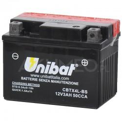 UNIBAT CBTX4L-BS (YTX4L-BS) AGM